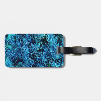 modelo suculento total del azul del extracto de lo etiqueta de maleta