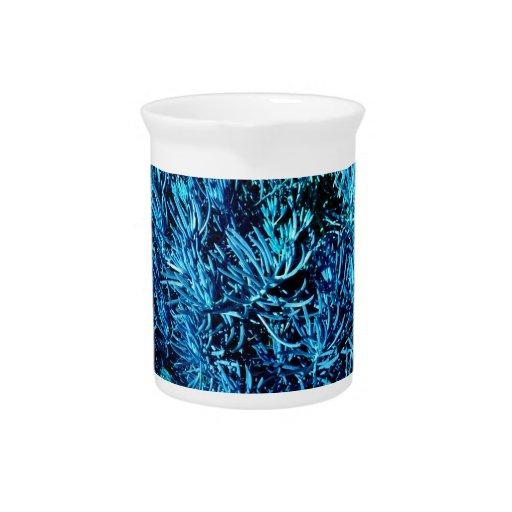 modelo suculento total del azul del extracto de lo jarrón