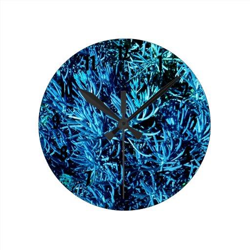 modelo suculento total del azul del extracto de lo reloj