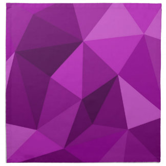 Modelo superficial de embalaje plano violeta servilleta de papel