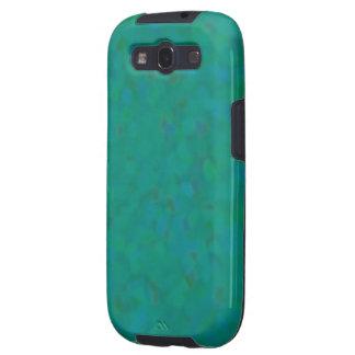 Modelo sutil en verde claro y azul galaxy s3 cobertura