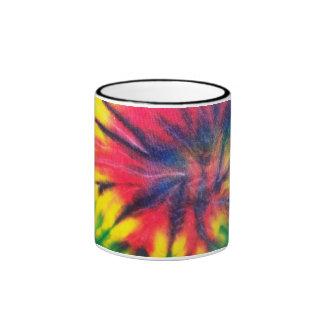 Modelo teñido lazo taza a dos colores