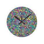 """Modelo texturizado de las tejas de mosaico del """"ca relojes"""