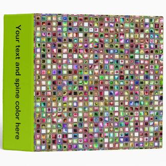 """Modelo texturizado de las tejas de mosaico del carpeta 2"""""""