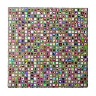 """Modelo texturizado de las tejas de mosaico del """"Lo"""