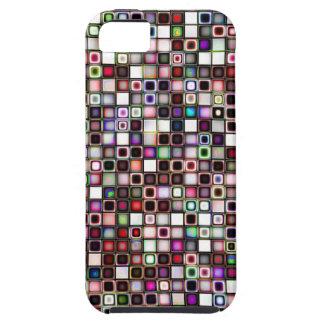 Modelo texturizado tonos apenado de las tejas de l iPhone 5 Case-Mate funda