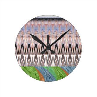 Modelo tradicional de África Asia Reloj Redondo Mediano