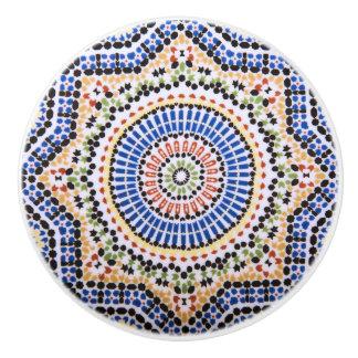 Modelo tradicional de la teja de Azulejo del Pomo De Cerámica