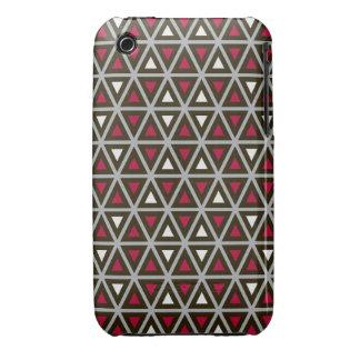 Modelo triangular de las formas iPhone 3 Case-Mate carcasa