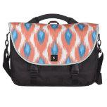 Modelo tribal abstracto azul rosado del diamante bolsas para portátil