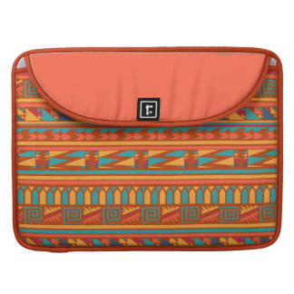 Modelo tribal azteca abstracto de la impresión de funda para macbook pro