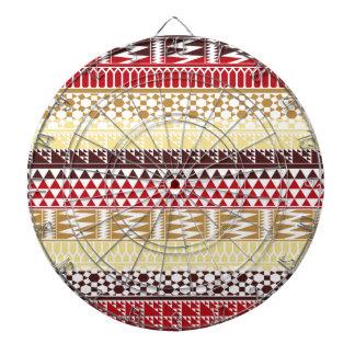 Modelo tribal azteca abstracto rojo poner crema de