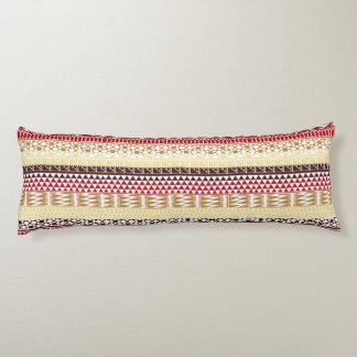 Modelo tribal azteca abstracto rojo poner crema de cojin cama