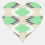 Modelo tribal azteca colcomanias de corazon