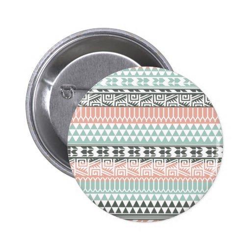 Modelo tribal azteca de la impresión del extracto pins