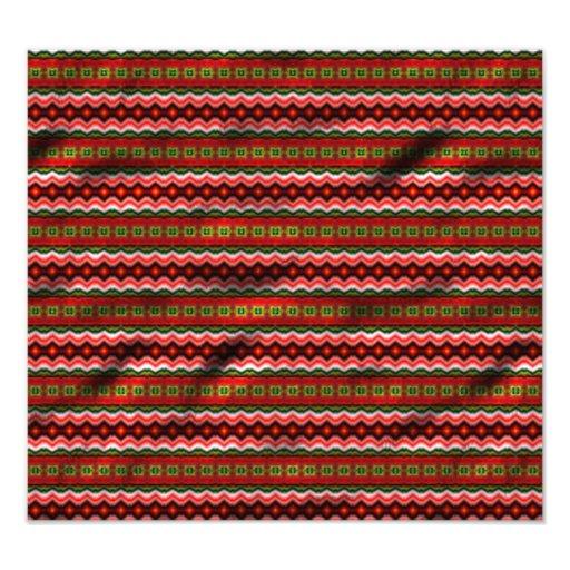 Modelo tribal colorido fotografías