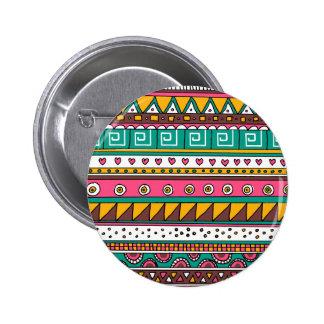 Modelo tribal colorido pins