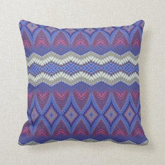 Modelo tribal de la alfombra cojines