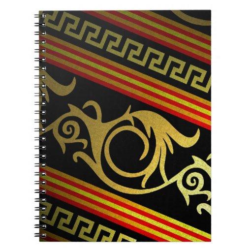 Modelo tribal del estilo egipcio notebook