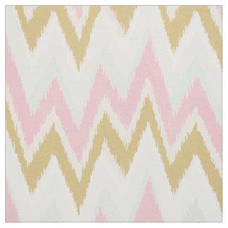 Modelo tribal del galón del rosa en colores pastel telas