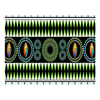 Modelo tribal del triángulo tarjetas postales