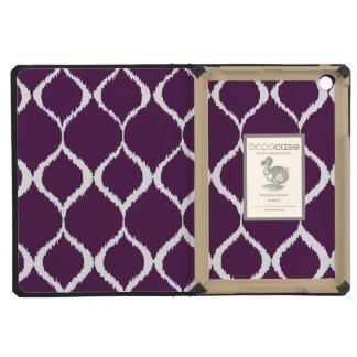 Modelo tribal geométrico púrpura de la impresión