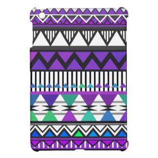 Modelo tribal púrpura 2 iPad mini cárcasa