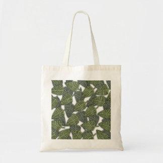 Modelo tropical de la hoja bolsa de mano