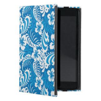 Modelo tropical del hibisco iPad mini cárcasas