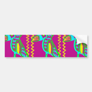 Modelo tropical del pájaro de Toucan de la diversi Pegatina De Parachoque