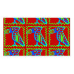 Modelo tropical del pájaro de Toucan de la diversi Plantilla De Tarjeta De Visita