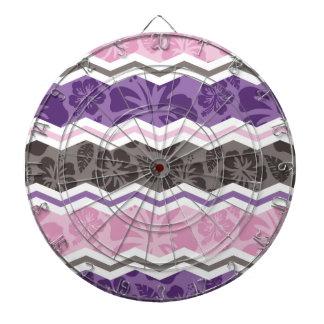 Modelo tropical rosa claro, púrpura, y de color to