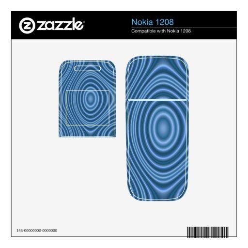 modelo único azul skin para el nokia 1208