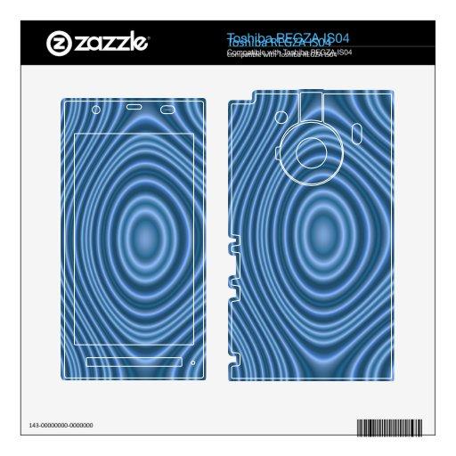 modelo único azul toshiba REGZA calcomanías