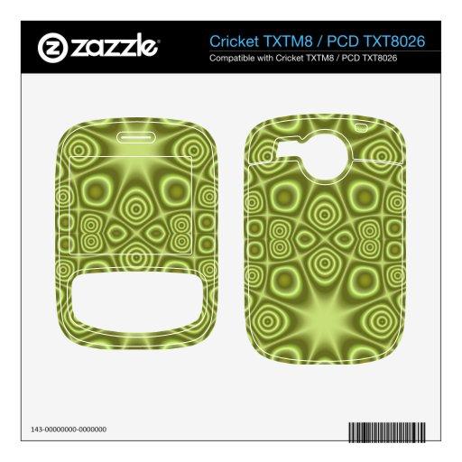 Modelo único verde cricket TXTM8 skin