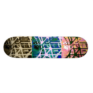 Modelo urbano coloreado multi skateboards