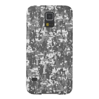 Modelo urbano de Digitaces Camo del carbón de leña Carcasas Para Galaxy S5