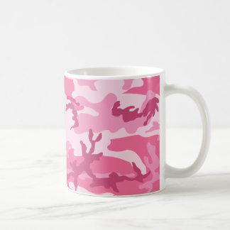 Modelo urbano rosado de Camoflage Taza