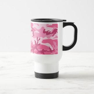 Modelo urbano rosado de Camoflage Taza De Café