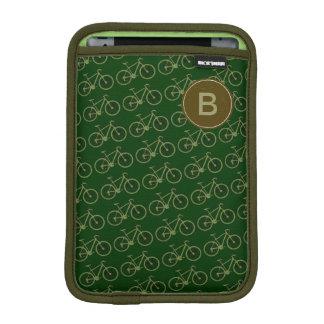 modelo verde adaptable de la bicicleta funda iPad mini
