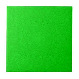 Modelo verde azulejo cuadrado pequeño