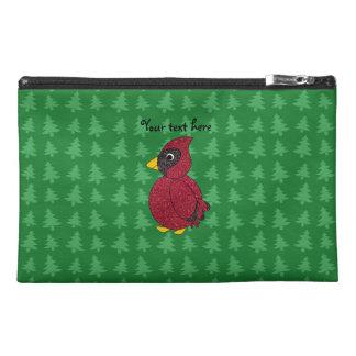 Modelo verde cardinal de los árboles de navidad de