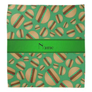 Modelo verde conocido personalizado de la bandanas