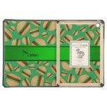 Modelo verde conocido personalizado de la hamburgu