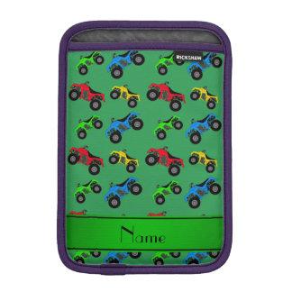 Modelo verde conocido personalizado del atv funda para iPad mini