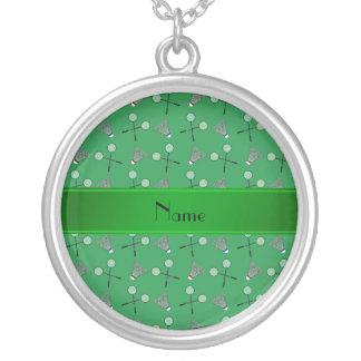 Modelo verde conocido personalizado del bádminton colgante redondo