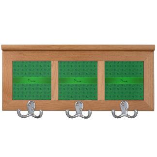 Modelo verde conocido personalizado del friki