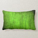 Modelo verde de agarrotado almohada