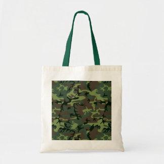 Modelo verde de Camo Brown del camuflaje Bolsa Tela Barata