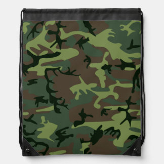 Modelo verde de Camo Brown del camuflaje Mochila